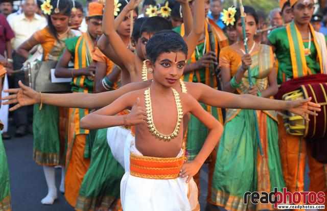 Jaffna traditional dance by a boy