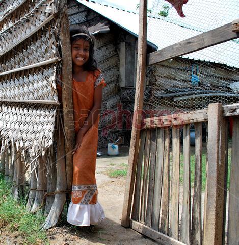 Smiling happy girl (2), Sri Lanka
