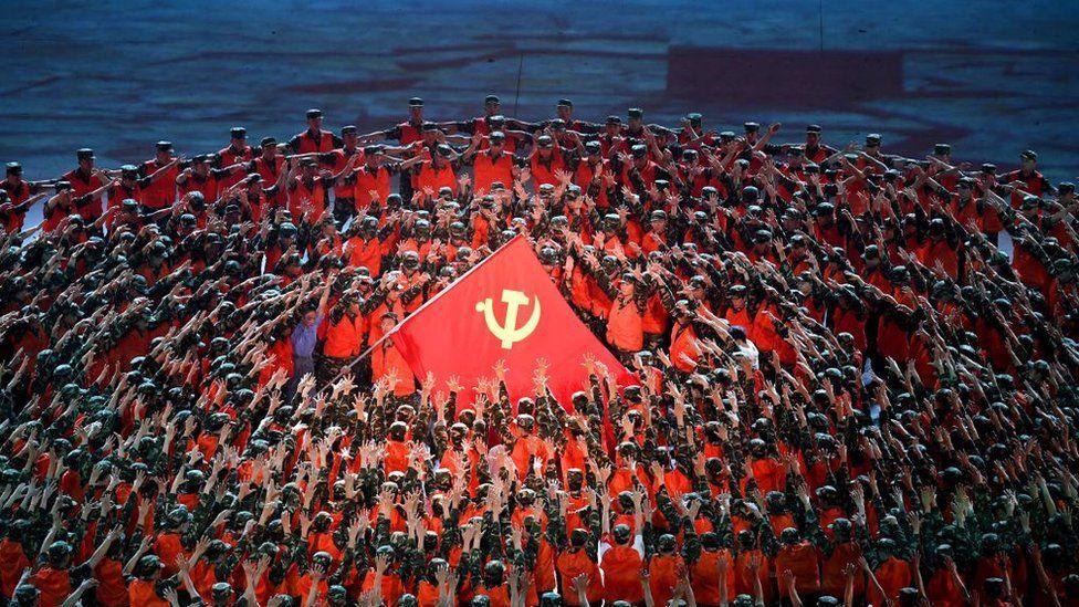 China celebrates 100 years of communism