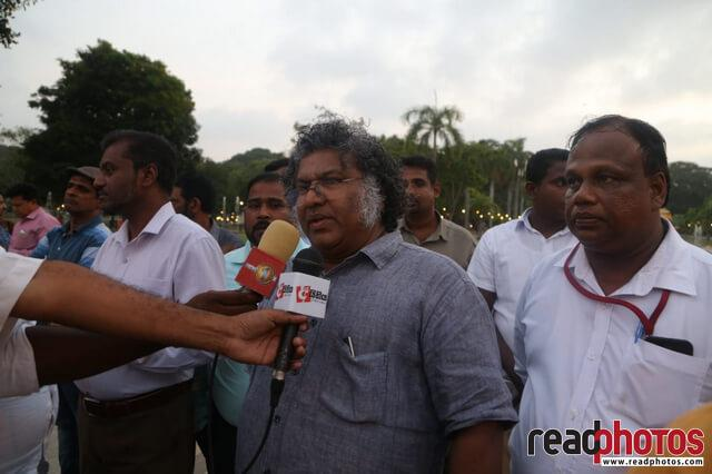 Journalist memorial event, Viharamahadevi park, Sri Lanka 2019 (2) - Read Photos