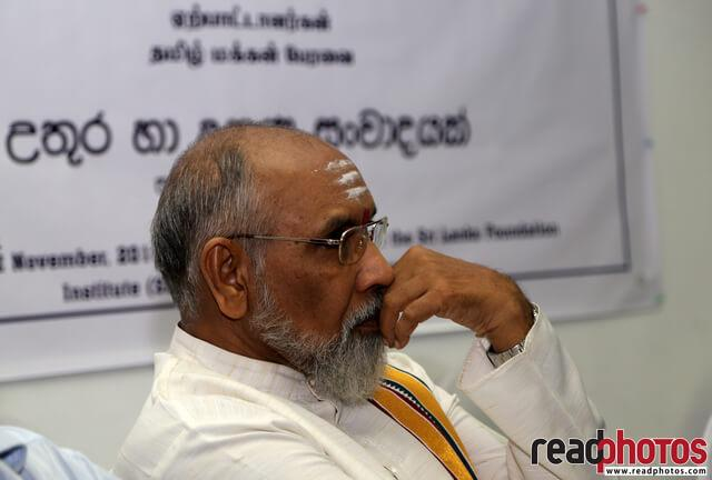 Discussion, North and South, Northern province chief minister  - Read Photos