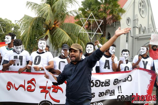 Civil society activist protest, Sri Lanka, 2018 (11)