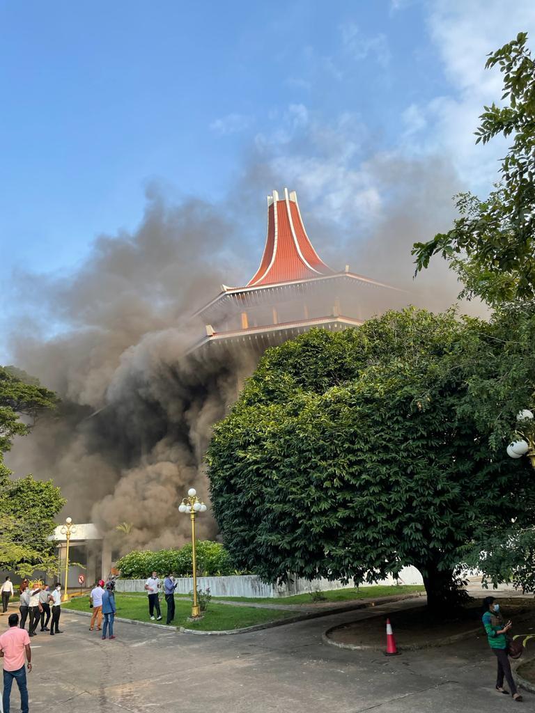 Blaze takes over Supreme Court
