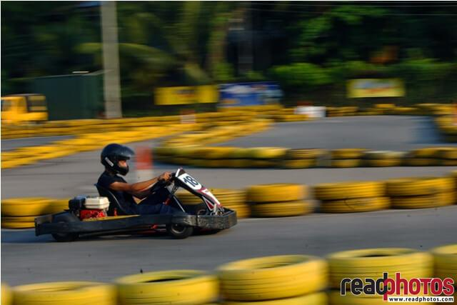Go-cart rider, Sri Lanka - Read Photos