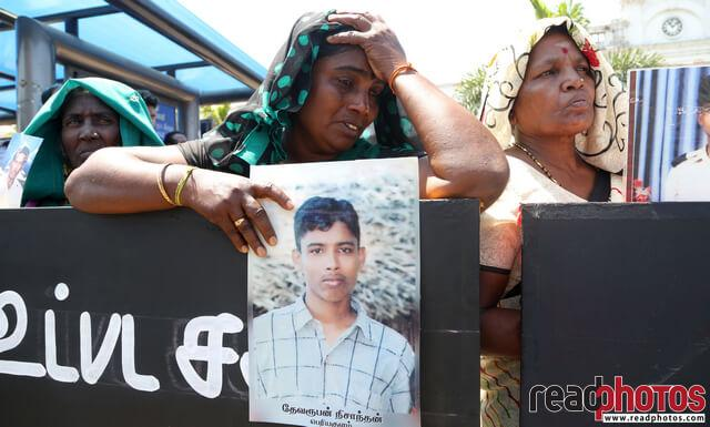 Missing person protest, Sri Lanka (3)