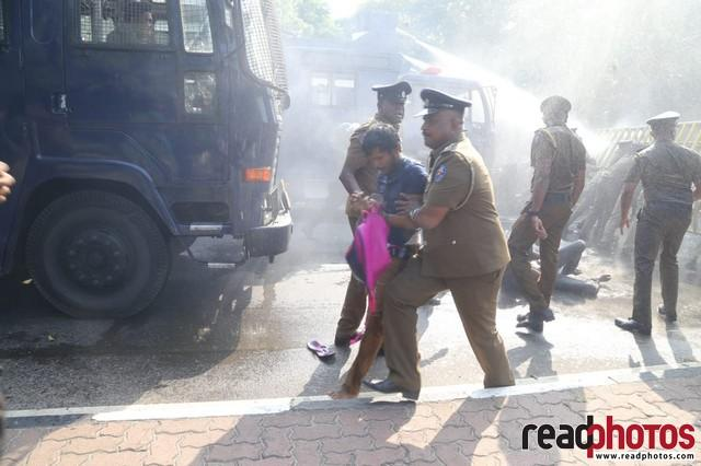 University student protest, Colombo 2019 (4) - Read Photos
