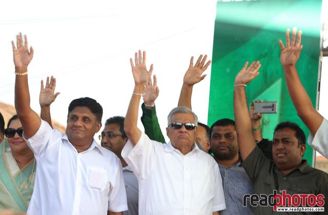 Political assembly, Gallface, Sri Lanka 2018 (9) - Read Photos