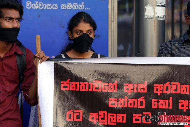 Protest against unethical media, Colombo, Sri Lanka (9) - Read Photos