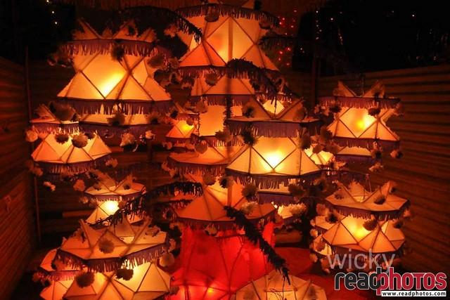 Wesak lanterns, Sri Lanka  - Read Photos