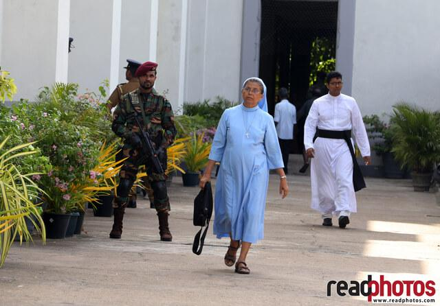 Memorial mass of 21st attack victims, Sri Lanka (8) - Read Photos