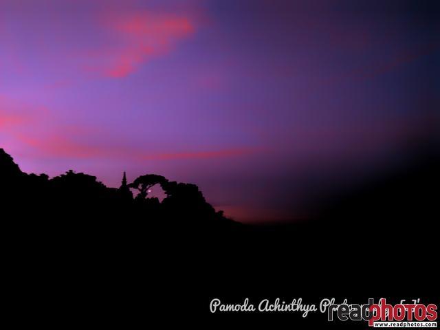 Evening sky mobile capture, Sri Lanka - Read Photos