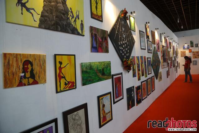 Waruni Gayani & Gayan Indula, Siblings art exhibition and book launch