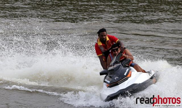 Jetski riders, Nuwara Eliya, Sri Lanka - Read Photos