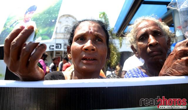 Protest for missing people in Colombo, Sri Lanka (4)