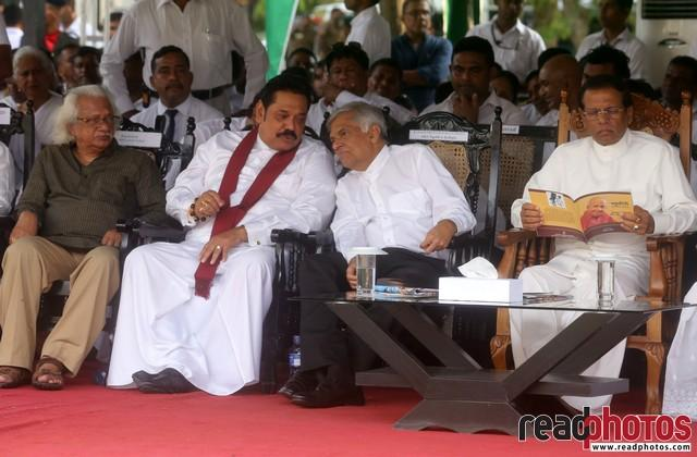 President, Prime Minister, Former President In Sri Lanka 2018 (2)