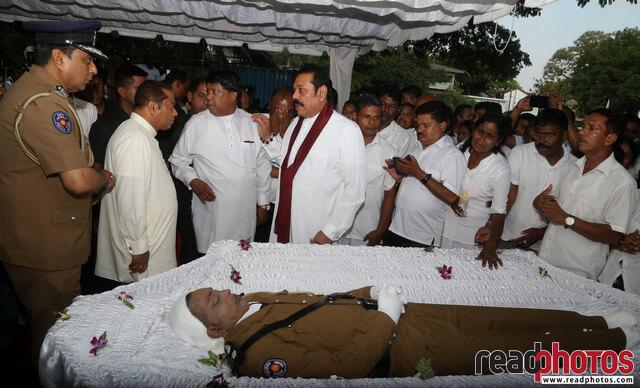 Police officer Funeral, Sri Lanka 2019 (3) - Read Photos