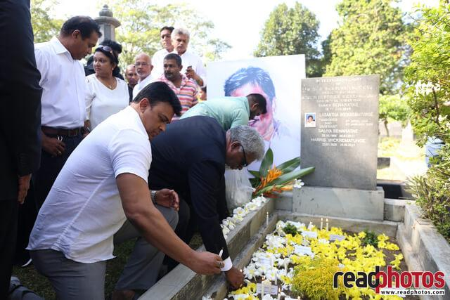 Lasantha Wickramathunga 10th Memorial (5) - Read Photos