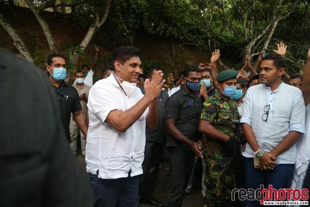 SJB election campaign - Sajith Premadasa at Dehiaththakandiya on 01/07/2020