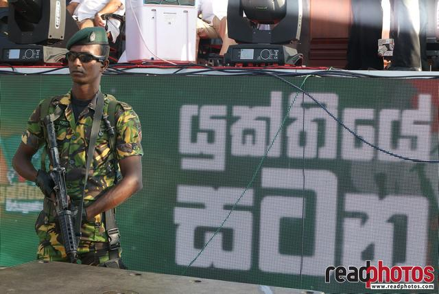 Political assembly, Gallface, Sri Lanka 2018 (8) - Read Photos