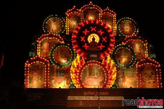 Wesak day, Sri Lanka - Read Photos
