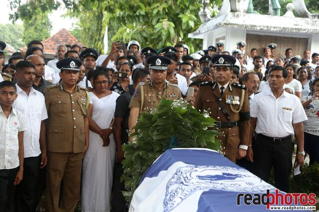 Police officer Funeral, Sri Lanka 2019 (4) - Read Photos