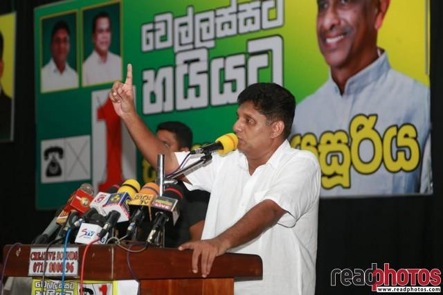 SJB election campaign - Sajith Premadasa at Wellawaya on 25/07/2020