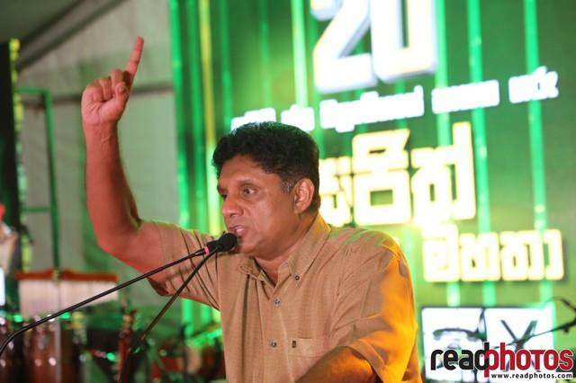 SJB election campaign - Sajith Premadasa at Borella on 29/07/2020