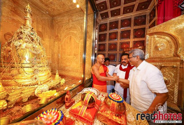 Gotabahya Rajapaksha Kandy visit 2019
