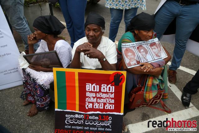 Civil society activist protest, Sri Lanka, 2018 (12)