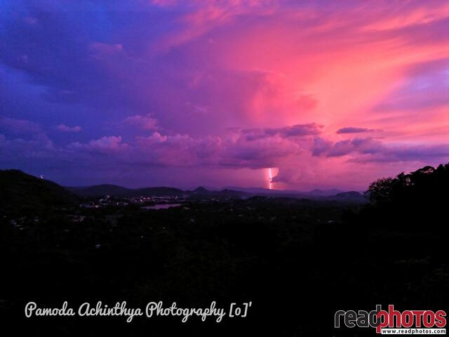 Lightning, Sri Lanka  - Read Photos