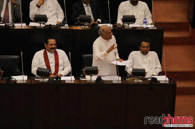 Parliament session November 2018, Sri Lanka (1)
