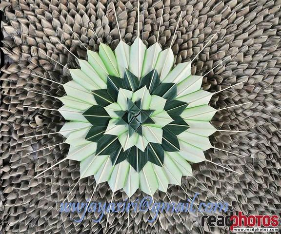 Art made from coconut leaves, Sri Lanka - Read Photos