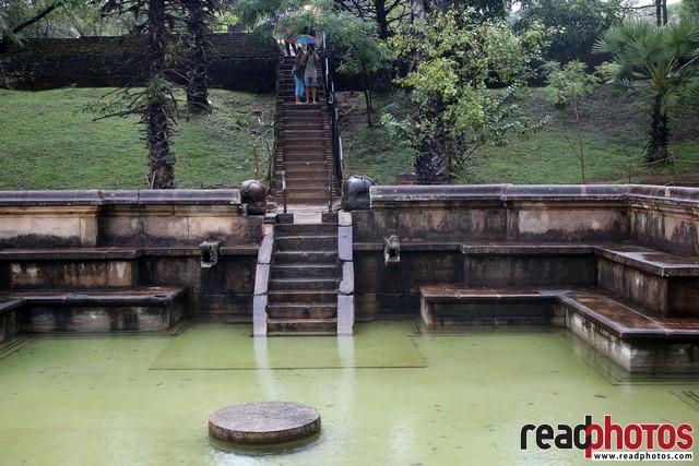 Ancient water pool, Sri Lanka