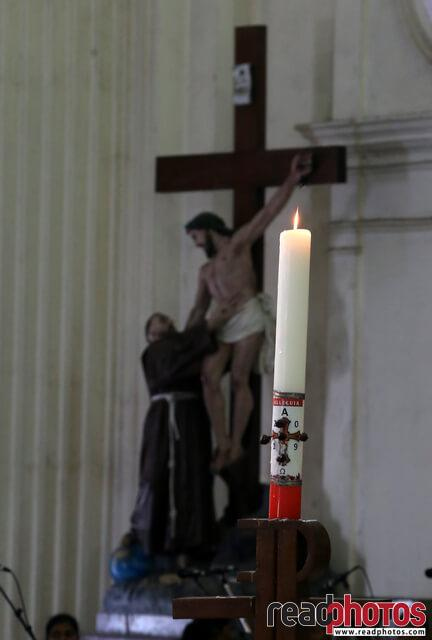 Candle in a church  - Read Photos