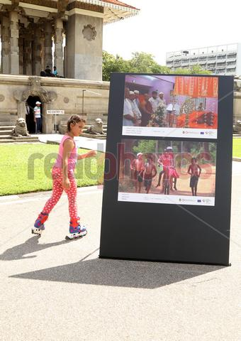 Globalization - peace exhibition independent square, Colombo Sri Lanka    - Read Photos