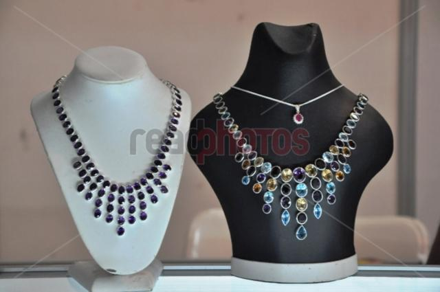 Gem Necklace, Sri Lankan - Read Photos