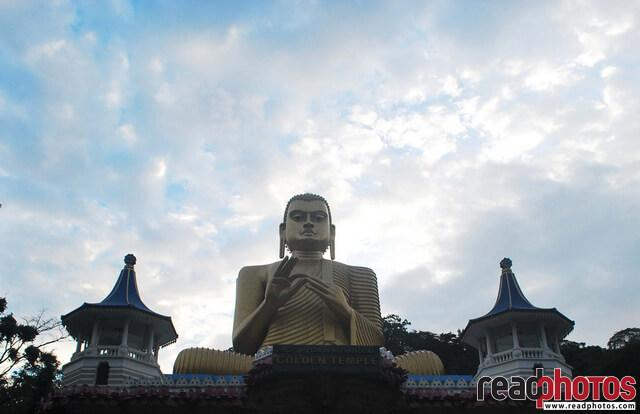 Dambulla temple, Buddha statue, Sri Lanka