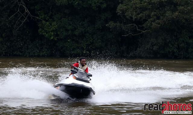 Jetski rider, Nuwara Eliya, Sri Lanka - Read Photos