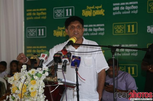 SJB election campaign - Sajith Premadasa at Mannar on 01/07/2020