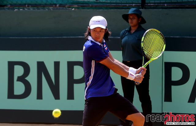 Thai tennis player in Sri Lanka  - Read Photos