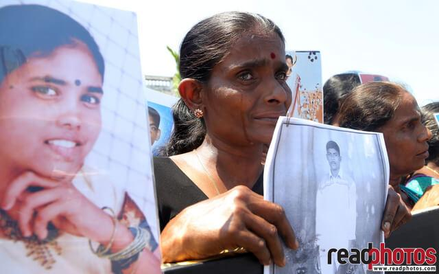 Missing person protest, Sri Lanka (2)