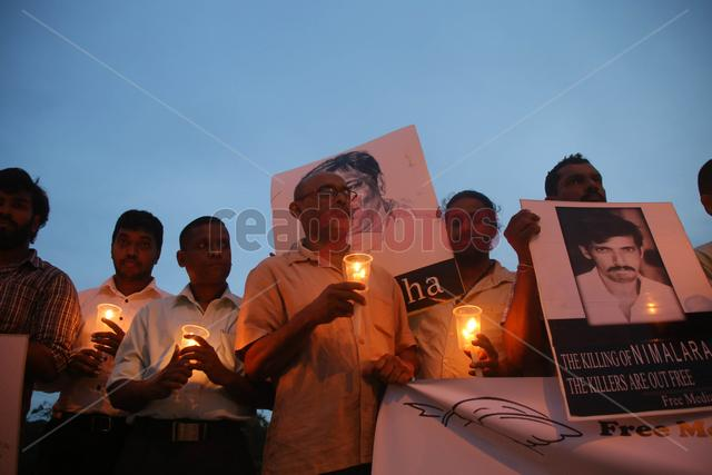 Black January protest by FMM Sri Lanka (6) - Read Photos