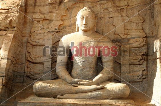 Gal viharaya (3), Polonnaruwa in Sri Lanka