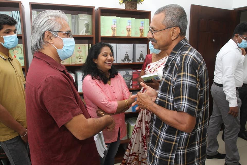 Vidarshana Publishers opened its new office premises at Kalubowila
