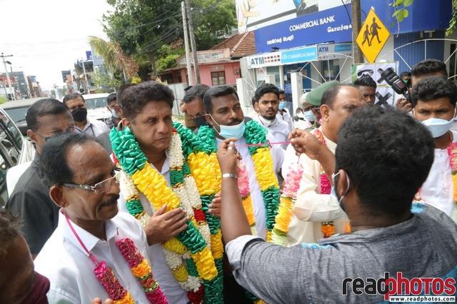 Sajith Premadasa opens the Batticaloa office of Samagi Jana Balawegaya