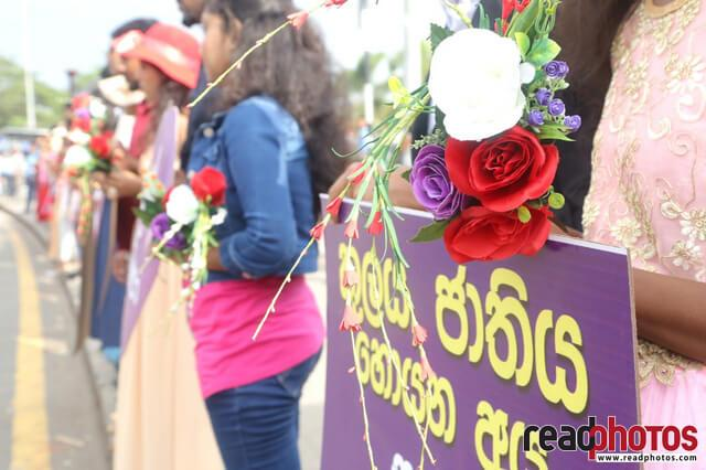 No need of dowry for the love, Protest (4) - Read Photos
