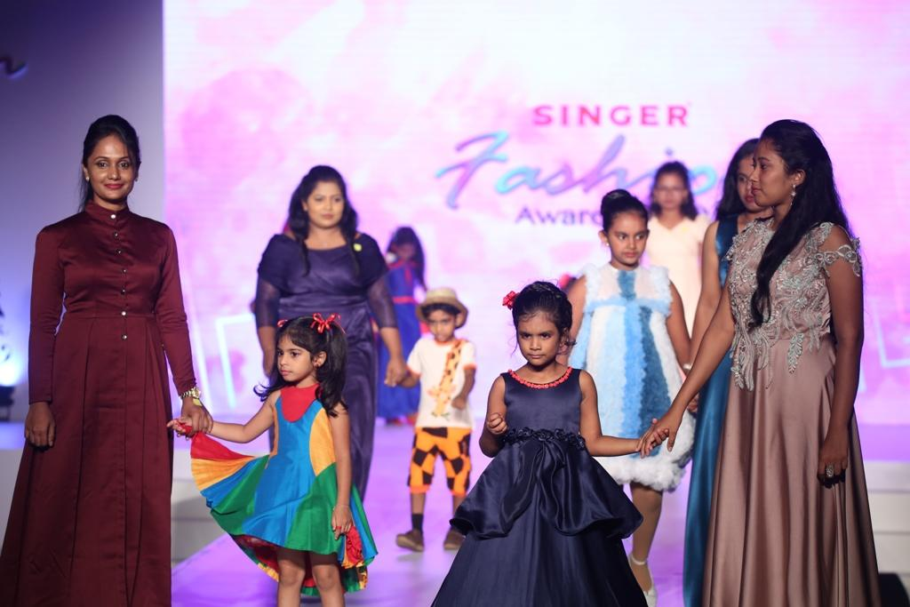 Singer fashion show and awarding ceremony