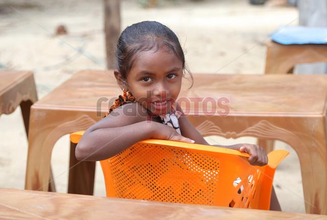 Sri Lankan girl smiling