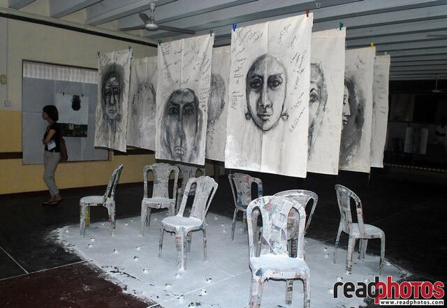 University art exhibition, Sri Lanka  - Read Photos