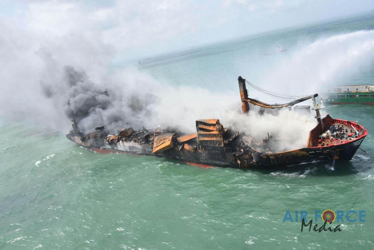 Still burning Express Pearl